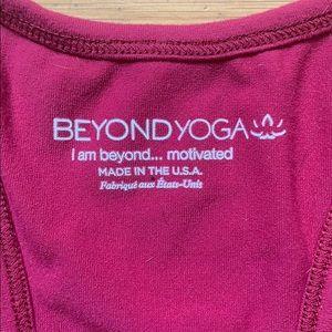 Beyond Yoga Intimates & Sleepwear - Raspberry Beyond Yoga sports bra